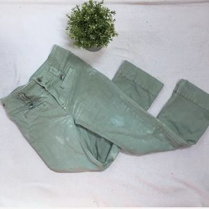 Anthropologie High Rise Flare Jeans Size 25